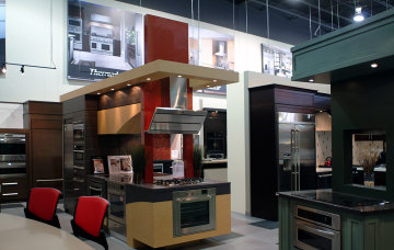 The Design For This London Ontario Showroom Called For The Creation Of A  Distinctive Kitchen For Each Of Eleven Different Appliance Manufacturers. Part 32